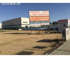 Parcela Industrial Alquiler Madrid