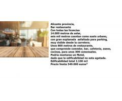 Restaurante Venta Alicante